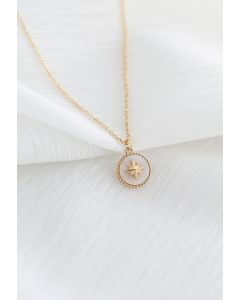 Star Coin Chain Necklace