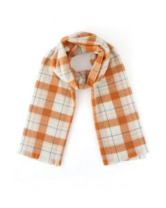 Voguish Check Soft Touch Scarf