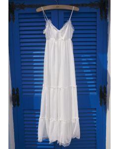 Encantador Maxi Vestido Veraniego de Chifón