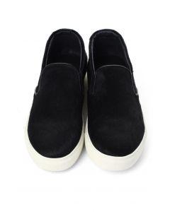 Zapatos Deportivos Sin Cordones en Negro