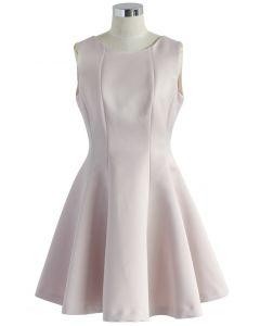 Vestido Rosa Estilo Patinadora