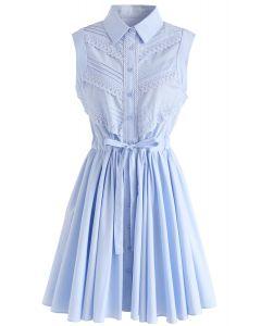 Vestido sin mangas sin mangas de Pure Beauty en azul