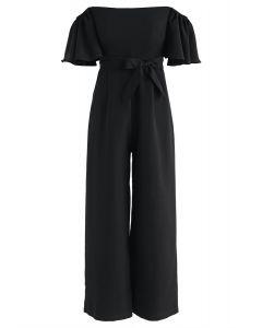 Encuentra tu blusa sin hombros Bliss en negro