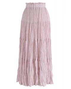 De ahora en adelante Falda plisada Dots en rosa