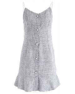 Vestido de camuflaje de Gonna Be Tweed en gris