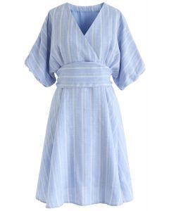 Mi vestido de verano eterno a rayas